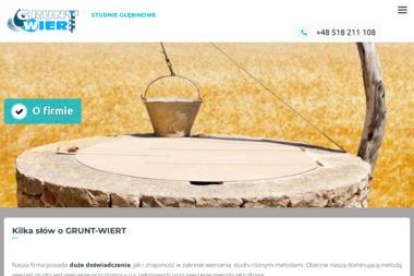 GRUNT-WIERT - Kopanie Studni Komarówka Podlaska
