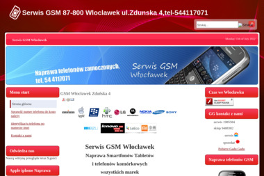 Serwis GSM - Serwis komputerów, telefonów, internetu Włocławek