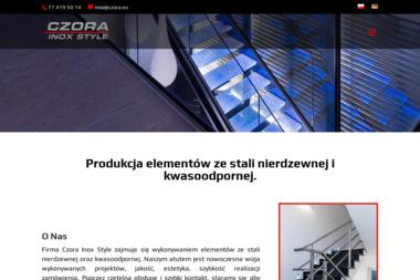 CZORA INOX STYLE - Balustrady Nierdzewne Opole