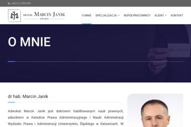 Kancelaria Adwokacka dr hab. Marcin Janik - Adwokat Żywiec