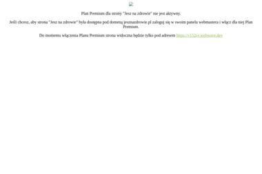 JESZ NA ZDROWIE Catering dietetyczny - Usługi Kulinarne Legionowo