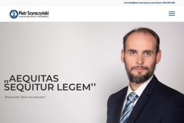 Kancelaria Radcy Prawnego Piotr Szyroczyński - Radca prawny Józefów