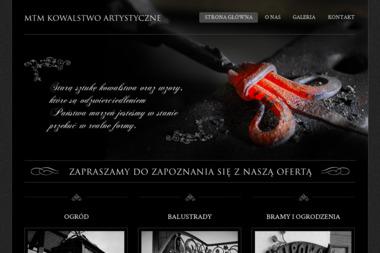 MTM Kowalstwo Artystyczne - Ogrodzenia kute Jabłonna