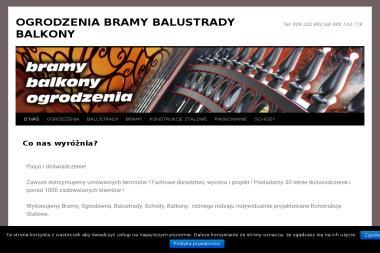 Artur Maliszewski Kowalstwo - Ogrodzenia kute Kołobrzeg