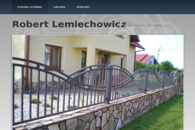 Robert Lemiechowicz Kowalstwo Artystyczne - Ogrodzenia Dobrzechów