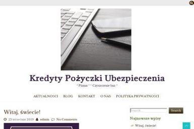 Centrum Finansowo-Ubezpieczeniowe Patrycja Napiwocka - Kredyt dla firm Nidzica
