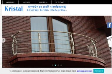 KRISTAL - Balustrady Balkonowe ze Stali Nierdzewnej Swarzędz