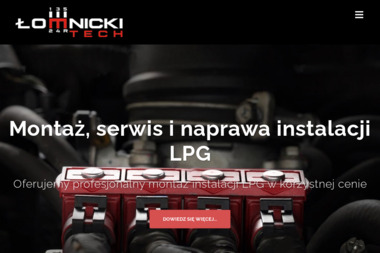 ŁOMNICKI-TECH - Gazownik Samochodowy Ostrów