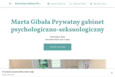 Prywatny Gabinet Psychologiczno-Seksuologiczny Marta Gibała - Psycholog Nysa