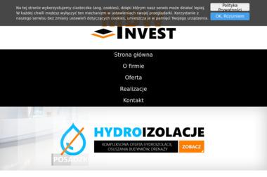 MBW Invest - Izolacja fundamentów Tarnów