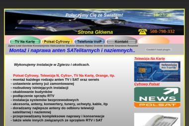 Satbud - Anteny Satelitarne Zgierz