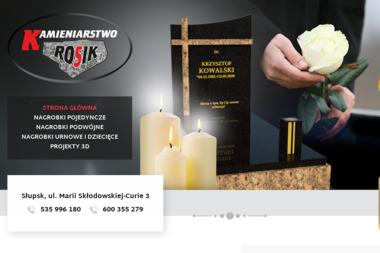 KAMIENIARSTWO ROSIK - Kamieniarstwo Słupsk