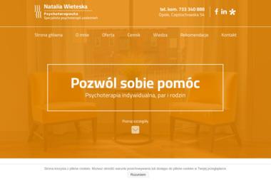 Natalia Wieteska - Terapia uzależnień Zbicko