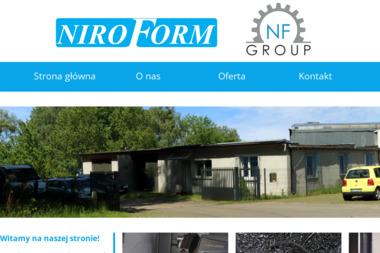 Niroform.pl Sp. z o.o - Poręcze Nierdzewne Trzeszczyn
