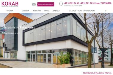 Ośrodek Rehabilitacyjno-Sanatoryjny KORAB - Sanatoria, uzdrowiska Świnoujście