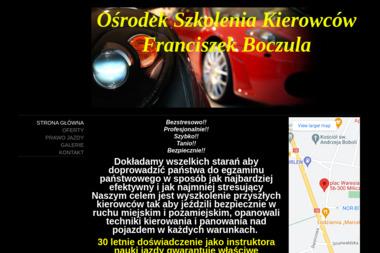 OSK Franciszek Boczula - Kurs Na Prawo Jazdy Milicz