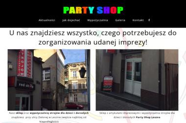 PartyShop24 - Wypożyczalnia strojów Leszno