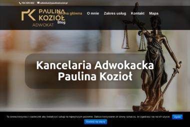 Kancelaria Adwokacka Paulina Kozioł - Adwokat Staszów