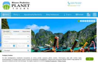 Biuro Podróży Planet Tours - Wycieczki i wczasy Ostrów Wielkopolski