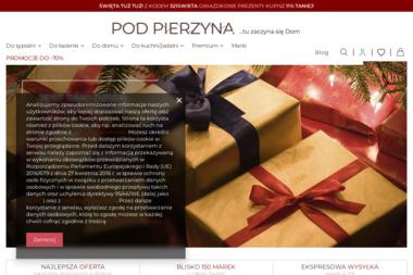 PodPierzyna.com - sklep z pościelą - Agencja interaktywna Andryjanki