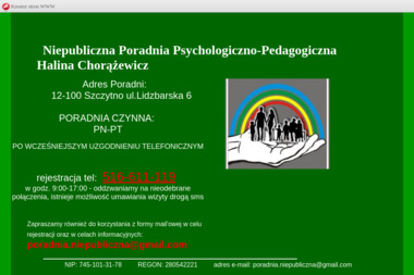 Niepubliczna Poradnia Psychologiczno-Pedagogiczna - Psycholog Szczytno