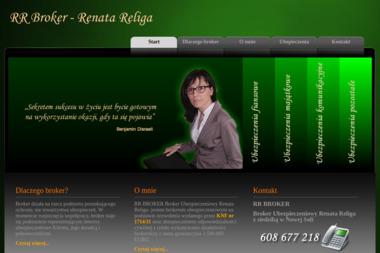 Broker ubezpieczeniowy Renata Religa - Ubezpieczenia Nowa Sól