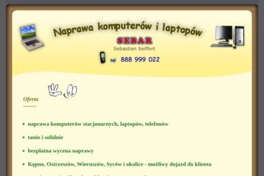 SEBAR - Naprawa komputerów Kępno