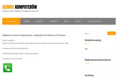 Serwis PC - Kursy komputerowe Poznań