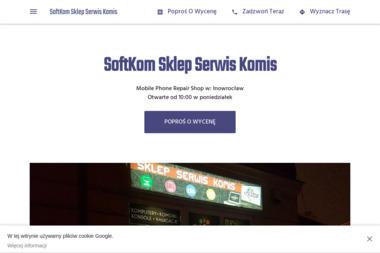 SoftKom - Serwis komputerów, telefonów, internetu Inowrocław