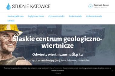 Studnie Katowice - Śląskie centrum geologiczno-wiertnicze - Studnia Artezyjska Katowice