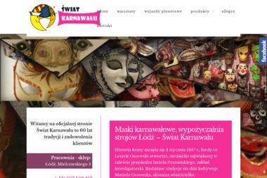 Świat Karnawału - Wypożyczalnia strojów Łódź