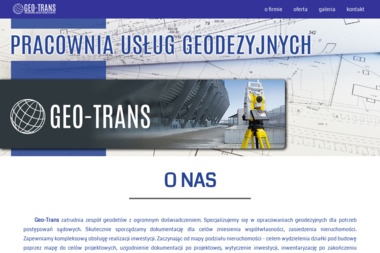 GEO-TRANS - Pracownia Usług Geodezyjnych - Usługi Hrubieszów