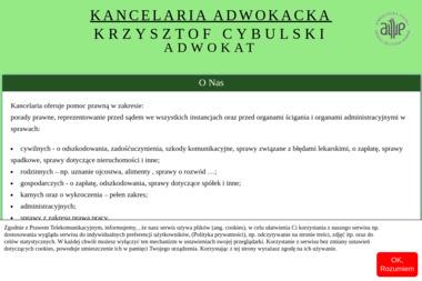 Kancelaria Adwokacka Krzysztof Cybulski - Adwokat Prawa Karnego Wołomin