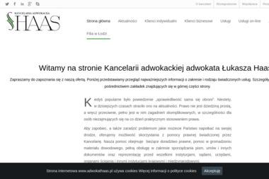 Kancelaria Adwokacka Adwokata Łukasza Haasa - Kancelaria prawna Sieradz