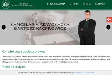 Kancelaria Adwokacka - Adwokat Bartosz Kacprowicz - Adwokat Lipno