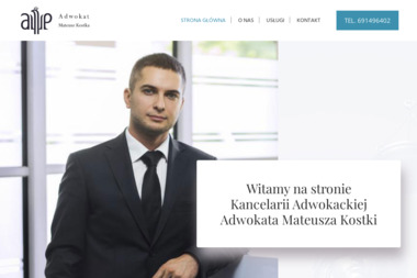 Kancelaria Adwokacka - Adwokat Mateusz Kostka - Adwokat Gryfino