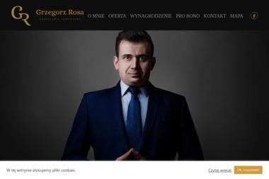 Grzegorz Rosa - Kancelaria Adwokacka - Adwokat Spraw Karnych Garwolin