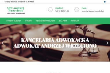 Kancelaria Adwokacka adwokat Andrzej Wrzeciono - Adwokat Ruda Śląska