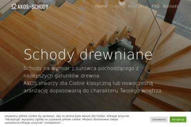 AKOS Usługi Stolarskie - Schody drewniane Bydgoszcz
