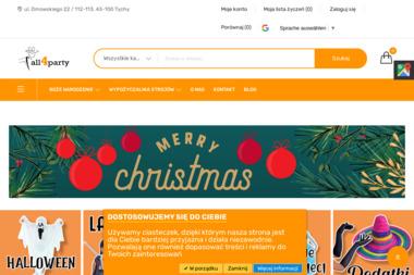 Artykuły imprezowe All4party - Wypożyczalnia strojów Tychy