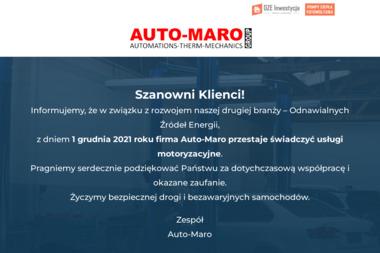 AUTO-MARO Sp. z o.o. - Klimatyzacja Samochodowa Konin