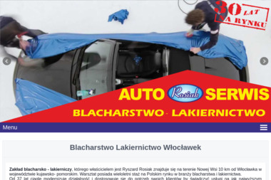 Auto Serwis Rosiak - Blacharstwo, lakiernictwo samochodowe Kruszyn