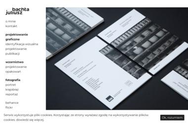 Projektowanie graficzne i wzornictwo - Juliusz Bachta - Projektowanie Reklam Przemyśl