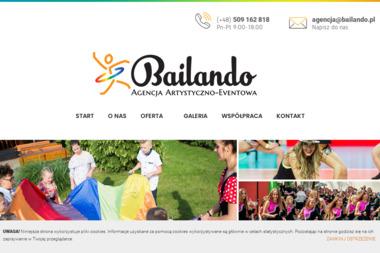 Bailando - Agencja Artystyczno-Eventowa - Animatorzy dla dzieci Kędzierzyn-Koźle