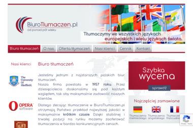 Biuro Tłumaczeń - Tłumacze Szczecin