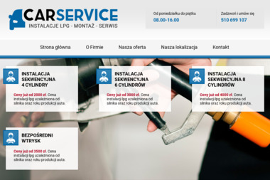 CAR SERVICE - Montaż Instalacji LPG Zamość