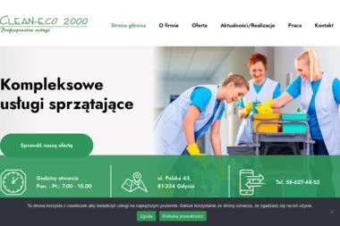 Clean-eco 2000 Sp. z o.o. Profesjonalne sprzątanie - Odśnieżanie dachów Gdynia