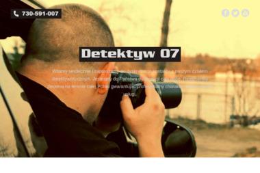 Detektyw 07 - Biuro Detektywistyczne Wągrowiec