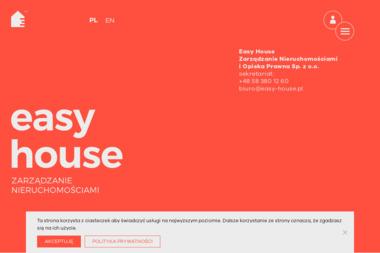EASY HOUSE Zarządzanie Nieruchomościami i Opieka Prawna Sp. z o.o. - Sprzątanie Biur Gdynia