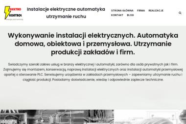 ELEKTROKONTROL - Montaż oświetlenia Zgorzelec